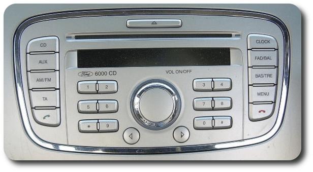 Ремонт штатных магнитол Ford в Краснодаре CD6000
