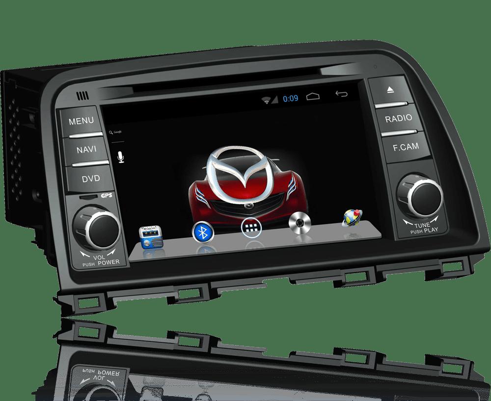 Ремонт штатных автомагнитол Mazda в Краснодаре